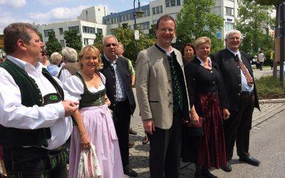 CSU beim Germeringer Volksfest 2014