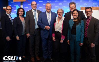 Aufstellung der CSU-Bundestagsliste