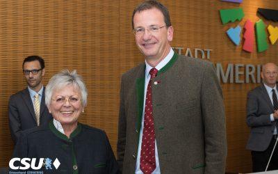 Herzlich Willkommen Monika Greczmiel im Germeringer Stadtrat