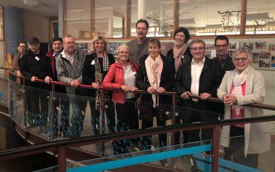 Stadtratsfraktion besucht Eugen-Papst-Schule