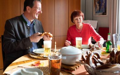"""Weißwurstfrühstück beim OB """"dahoam"""""""