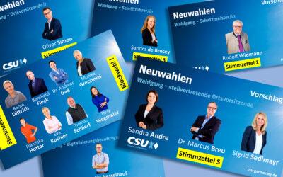 Neuwahlen im Ortsverband – mit großer Geschlossenheit in die nächsten zwei Jahre